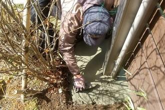 フェンス補修工事