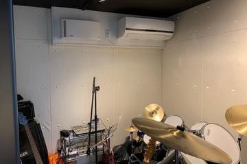 防音設備完備(ドラム部屋)